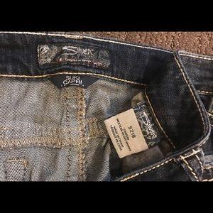 Silver Jean Co. Suki Capri Size 18